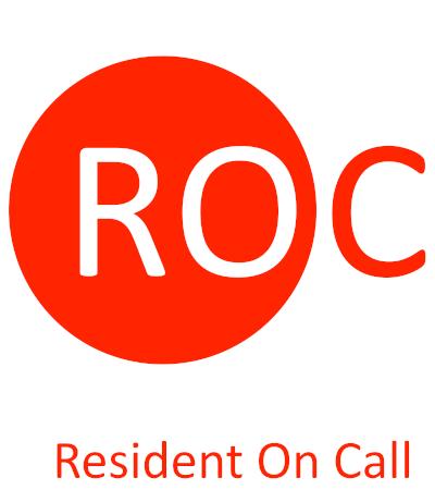 Logo ROC - Resident On Call