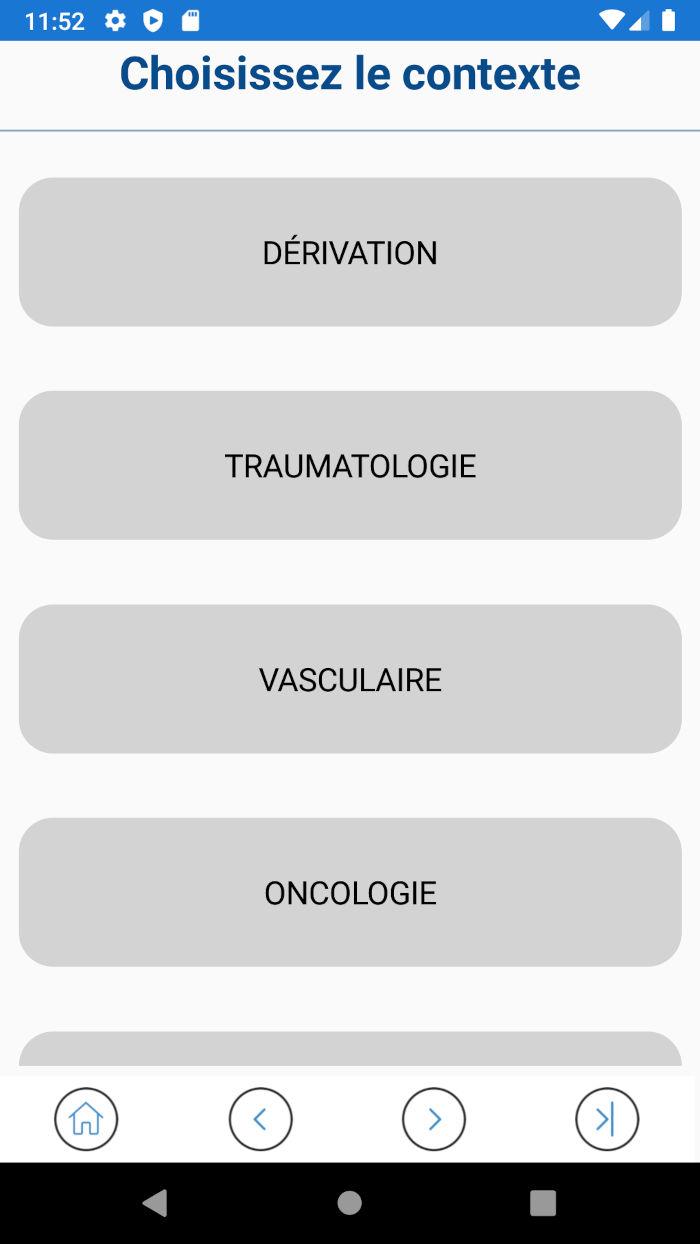 Application ROC - Contexte crâne