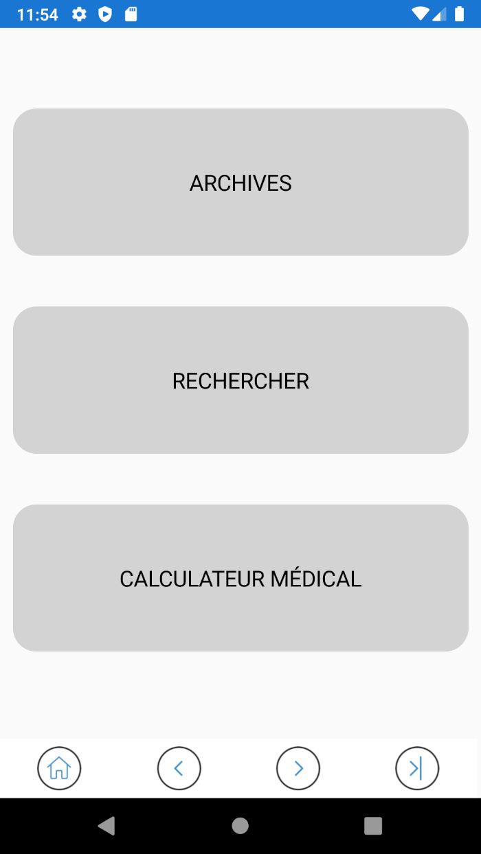 Application ROC - Carnet de bord